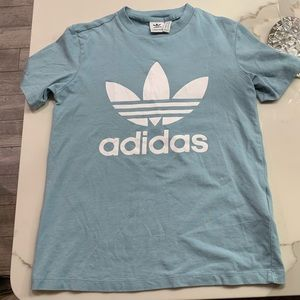 Baby Blue Adidas T-shirt